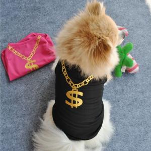 Dollar Sign Dog T-shirts - PetCareSunday