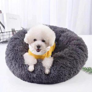 Winter Calming Pet Bed - PetCareSunday