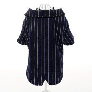 Dog Striped Suit Shirt - PetCareSunday